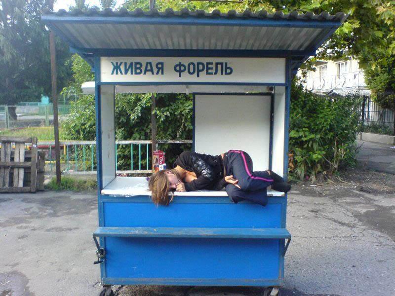 """""""Российское убивает"""", - активисты призывали бойкотировать российские товары в ТЦ Одессы - Цензор.НЕТ 5248"""